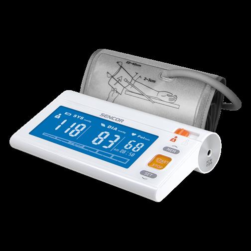 Дигитален апарат за измерване на кръвно налягане на ръка..