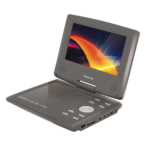 SPV 7723 CHAMPAGNE Portable DVD player with HD DVB-T