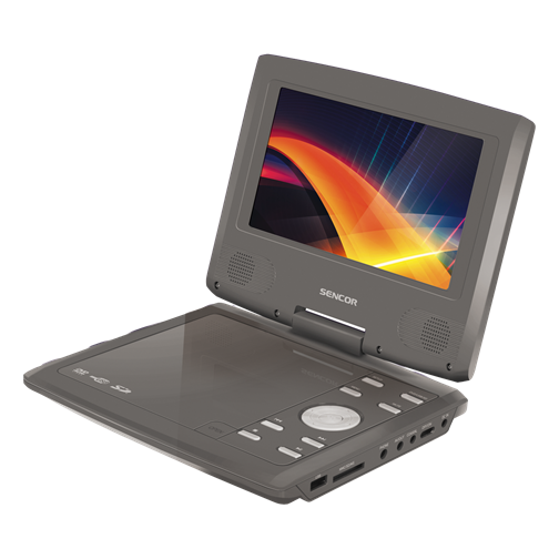 SPV 2720 CHAMPAGNE Portable DVD player